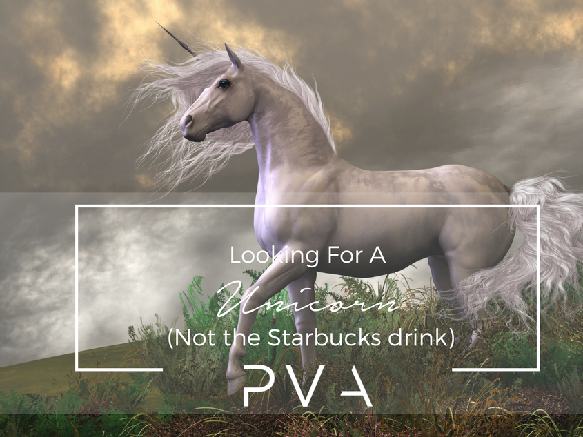 Looking For A Unicorn (Not the Starbucks drink)