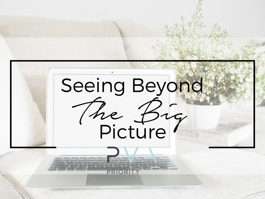 Seeing Beyond The Big Picture