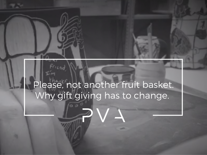 Please, not another fruit basket. Why gift giving has to change.