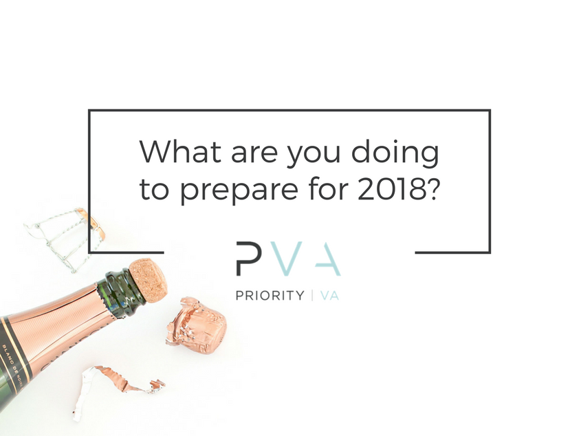 What are you doing to prepare for 2018?