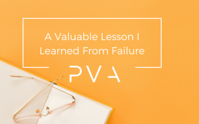 A Valuable Lesson I Learned From Failure