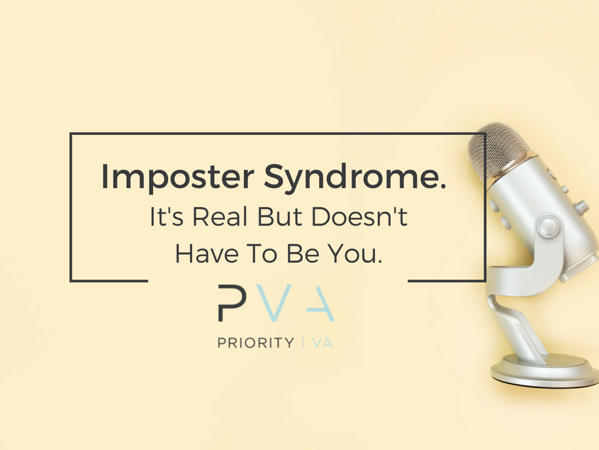 Imposter Syndrome. It's Real But Doesn't Have To Be You.