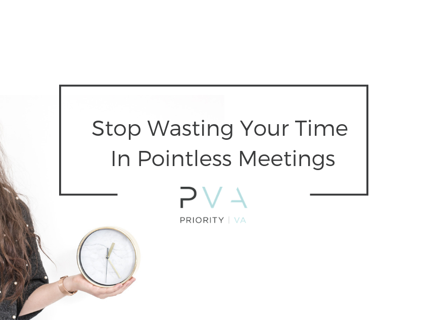 Stop Wasting Your Time In Pointless Meetings