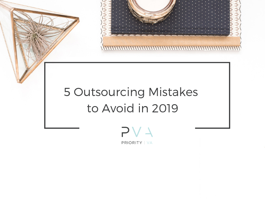 5 Outsourcing Mistakes to Avoid in 2019