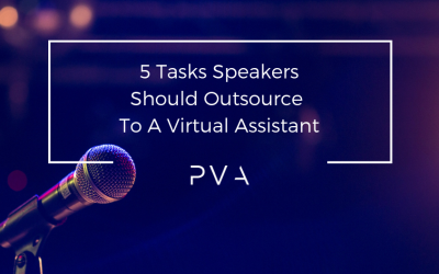 5 Tasks Speakers Should Outsource To A Virtual Assistant