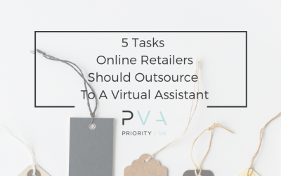 5 Tasks Online Retailers Should Outsource To A Virtual Assistant