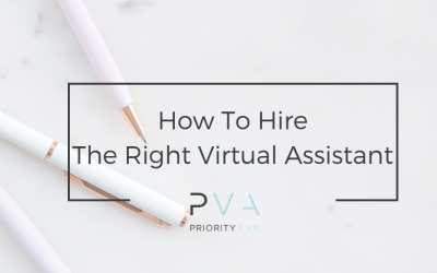 How To Hire The Right Virtual Assistant