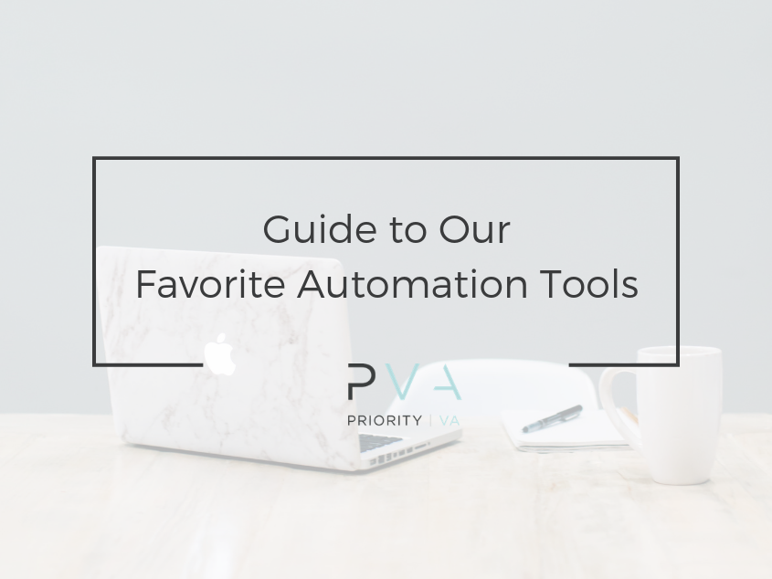Guide to our Favorite Automation Tools