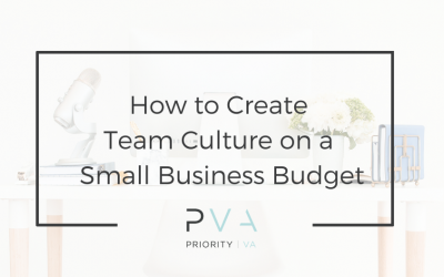 How to Create Team Culture on a Small Business Budget