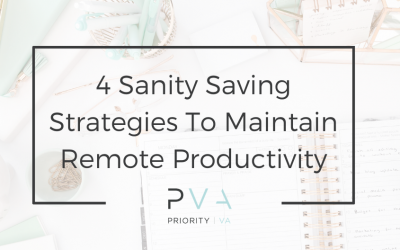 School Is Out – 4 Sanity Saving Strategies To Maintain Remote Productivity