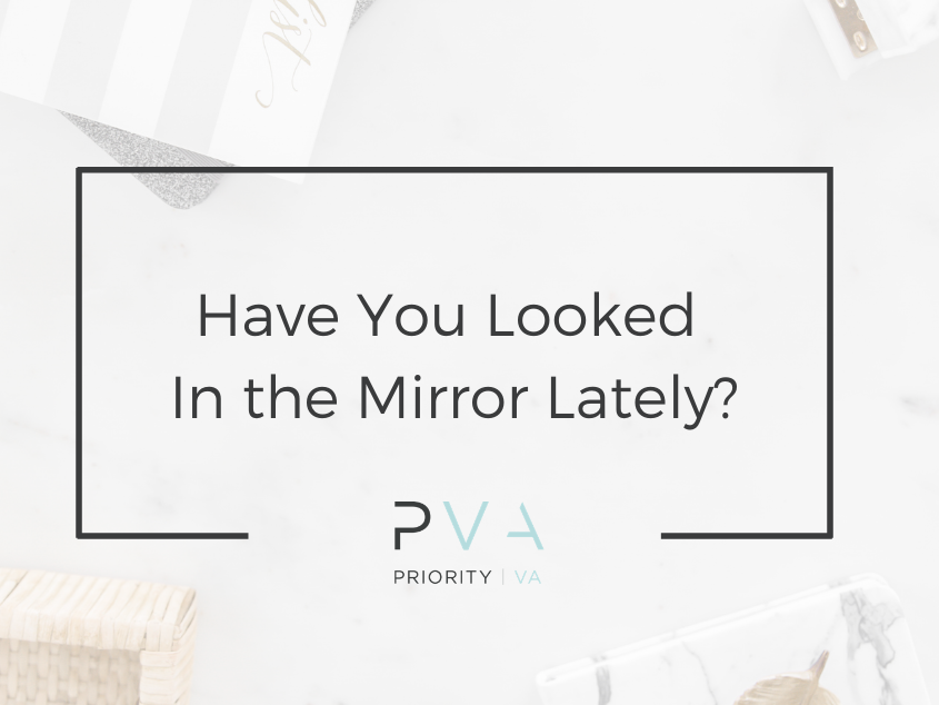 Have You Looked In the Mirror Lately?