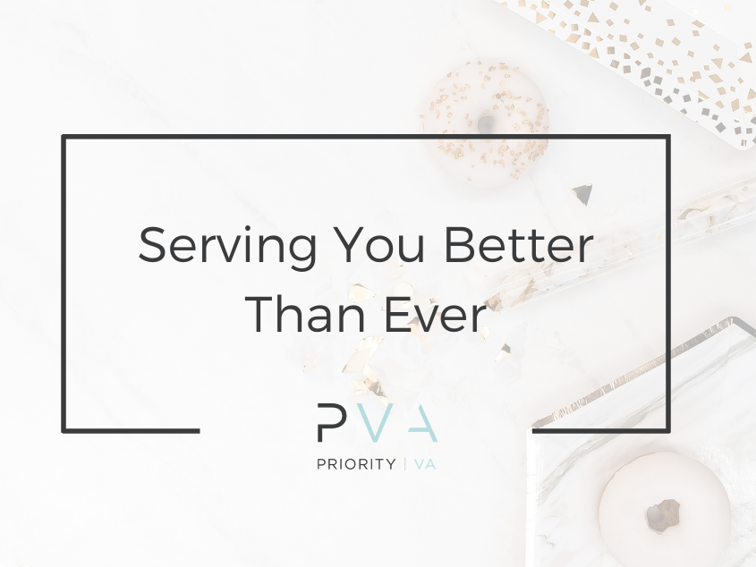 Serving You Better Than Ever: PVA 2.0!