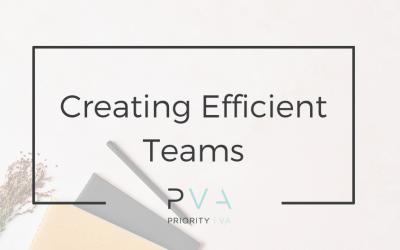 Creating Efficient Teams
