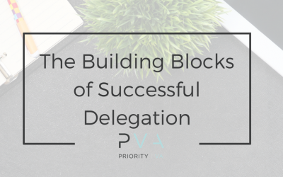 The Building Blocks of Successful Delegation